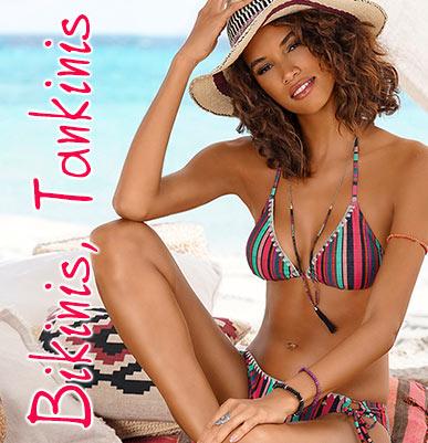Bikinis, Mix-Kinis und Tankinis