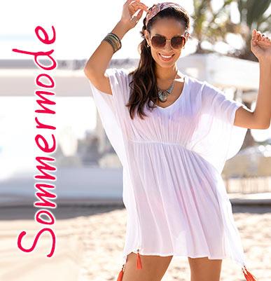 leichte Sommermode, Strandbekleidung