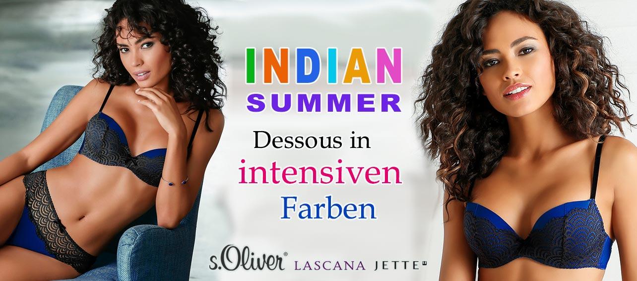 Indian Summer Dessous