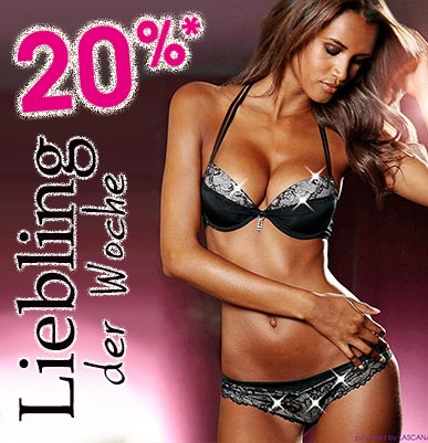 20% Rabatt auf Lieblings-Dessous: Serie Paola von Lascana
