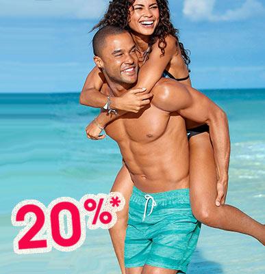 Herren Bademode mit 20% Sommer-Rabatt