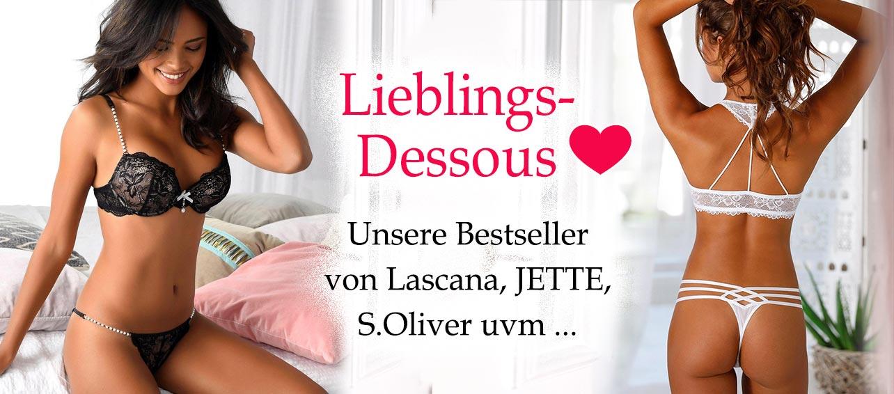 Lieblings-Dessous von Lascana, JETTE, s.Oliver uvm...