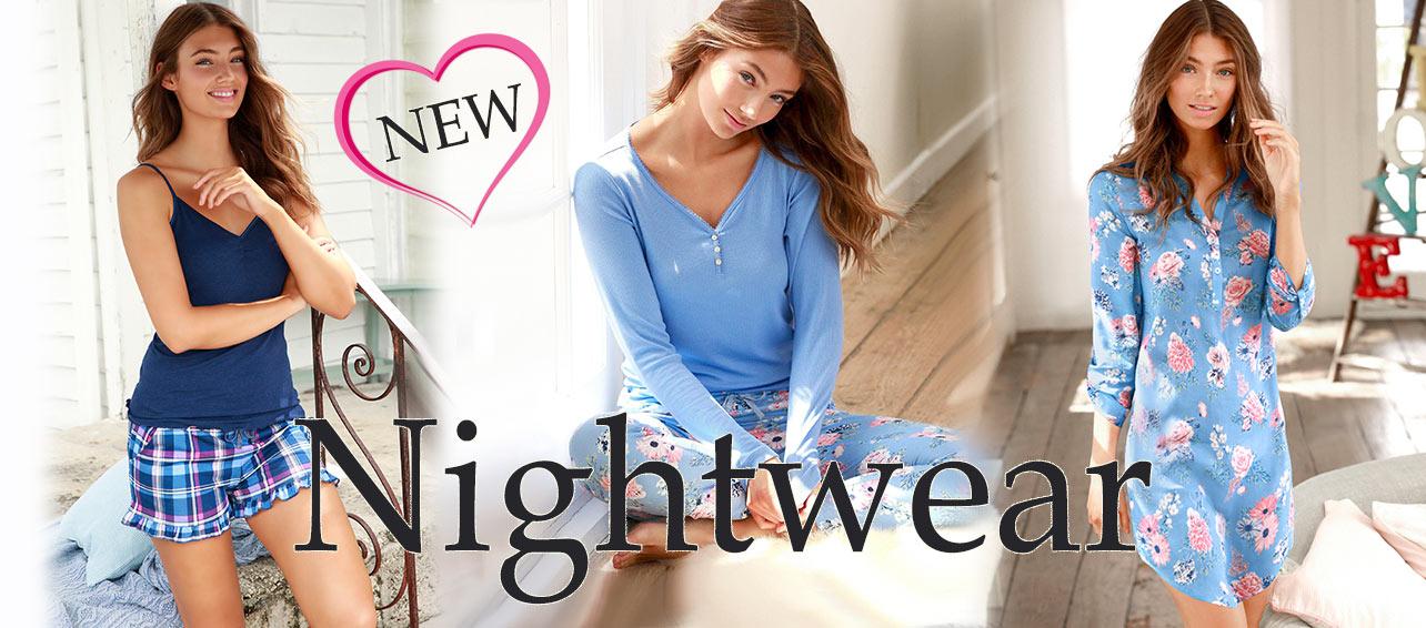 Entdecke unsere neue Nightwear ...