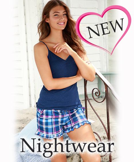 Nachtwäsche und Nightwear aus Naturfaser
