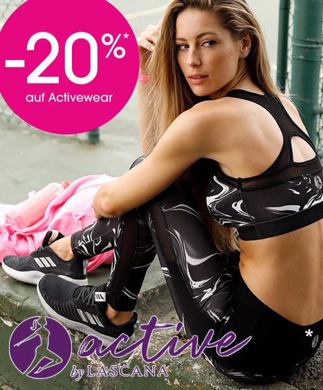 Sportswear: Leggings, Jacken, Shirts, Sport-BHs
